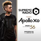 BPM Supreme - Supreme Radio: Epsiode 56 - ApolloXO Cover Art