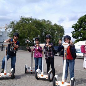 Segway Stockholm Airwheel-A Great Way to See Stockholm