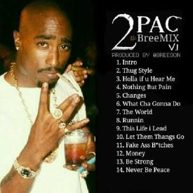 Nothing But Pain - 2pac - BreeMIX