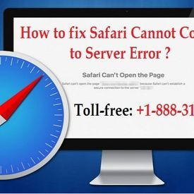 safari cannot connect to server