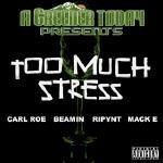 Carl Roe - Too Much Stress ft Carl Roe, Beamin, Ripynt, Mack E Cover Art