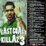 Cashflow Mixtapes - St. Laz & Pottersfield East Coast Killaz 3 Hosted By Dj Focuz Cover Art
