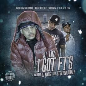 St. Laz Ft JR Writer - Get out my way (Prod. by Ju Fresh)