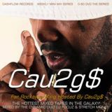 Cashflow Mixtapes - D.J. Focuz Stretch Money presents Cau2g$ Far Rockaway king Cover Art