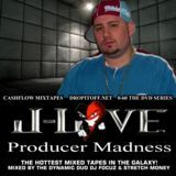 Cashflow Mixtapes - D.J. Focuz Stretch Money presents Producer Madness J-Love Edition Cover Art