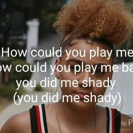 HOW COULD YOU PLAY ME LYRICS