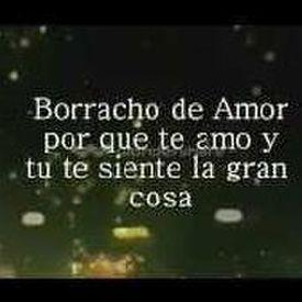 Borracho De Amor