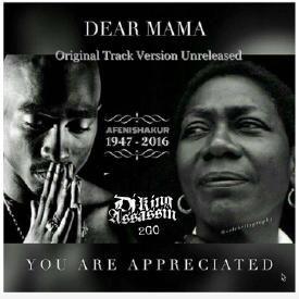 2pac dear mama single