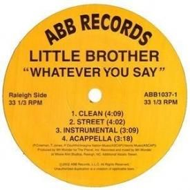 Whatever You Say (The Maxwell Mix)