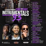 Coast 2 Coast Mixtapes - Coast 2 Coast Instrumentals 93 Cover Art
