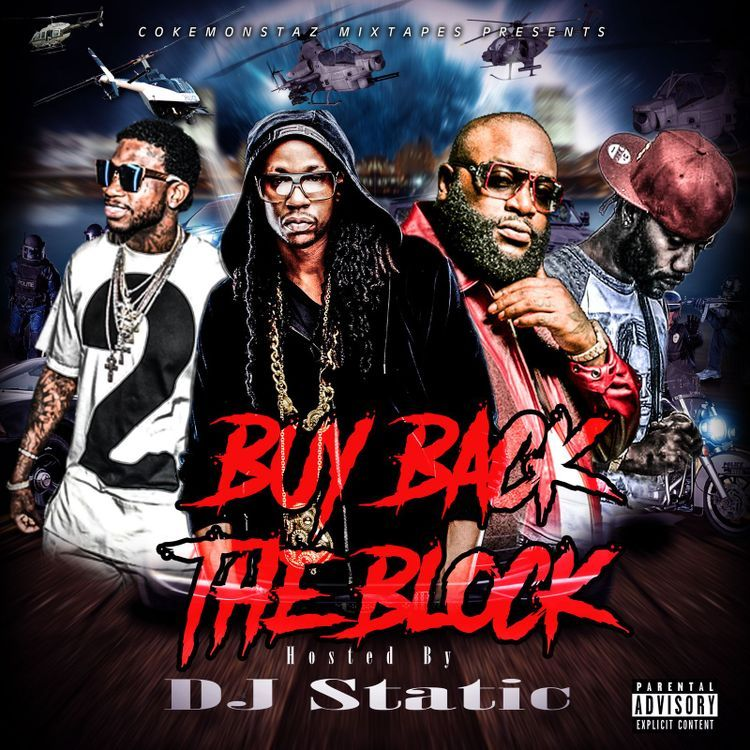 e55c8e6b621 Rick Ross, 2 Chainz, Gujji Underrated Green, Gucci Mane Buy Back The Block