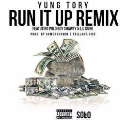 Contraband App - Run It Up (Remix) Cover Art