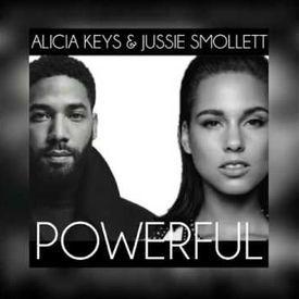 Alicia Keys, Jussie Smollett   Powerful