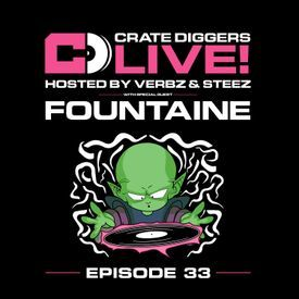 EP 33 - Crate Diggers Live: Fountaine