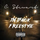 Cordaro Stewart - IM BACK (Freestyle)Hustle Motivation Music Cover Art