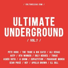 CultureLeak.com - Ultimate Underground vol. 7 Cover Art