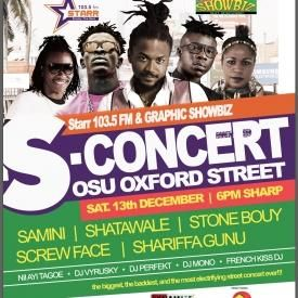 Shatta Wale Talks To Kweku Obeng Adjei  Of Starr103.5FM On The S Concert