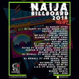 D Jay Damlex - Naija Top Billboard 2018 Mixtape uploaded by D Jay