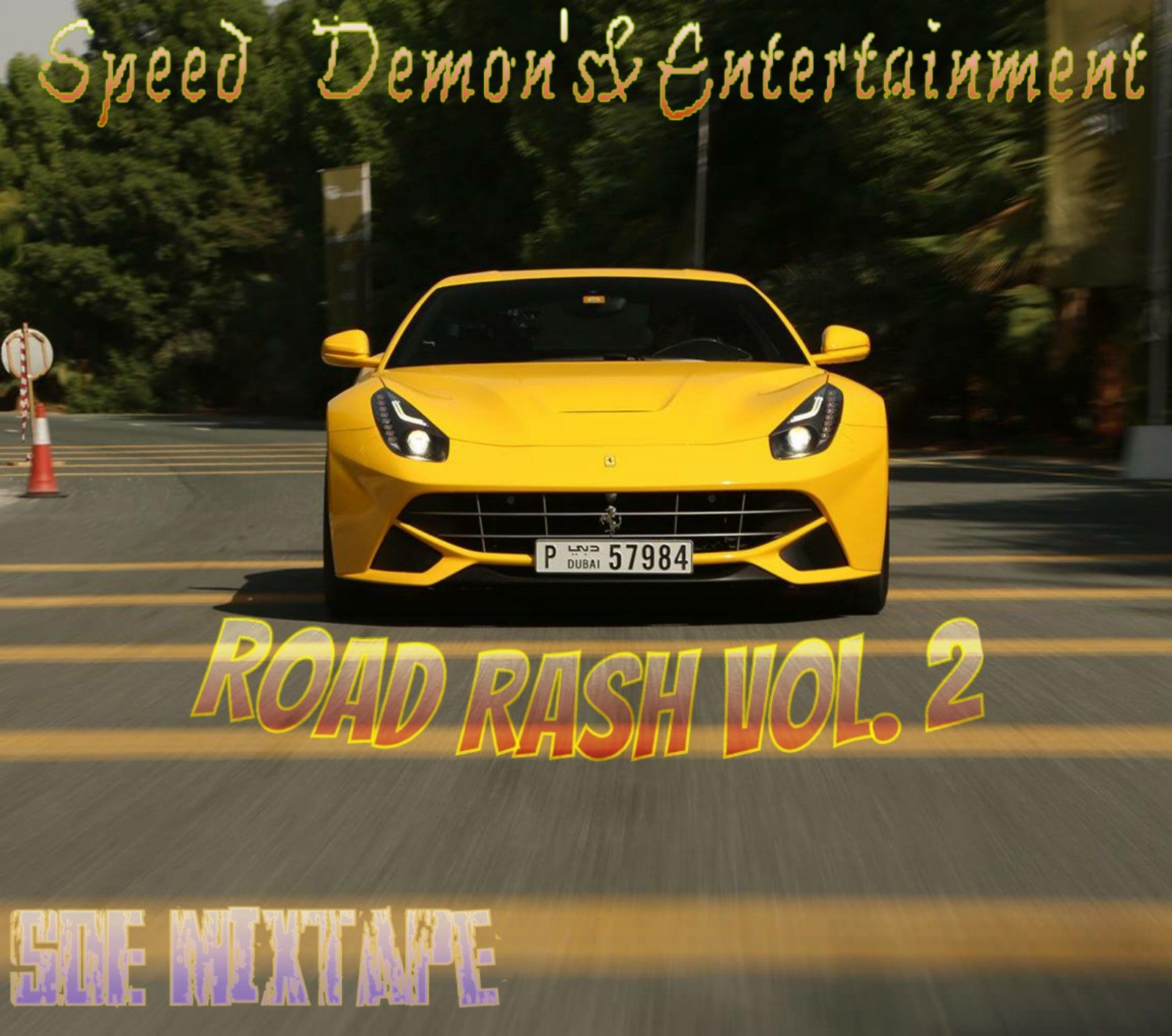 Road Rash Volume 2 by Speed Demon's Entertainment, from Da B.B.C Also Known As Bajan Braided ...