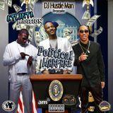 Dj Hustle Man - VARIOUS ARTISTS - POLITICAL WARFARE ( ATLANTA EDITION ) Cover Art