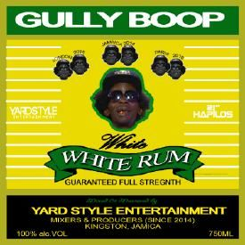 GULLY BOP - WHITE RUM (RAW)
