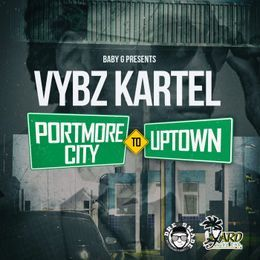 DAVIIKRS RECORDS - Portmore City to Uptown (Clean) Cover Art