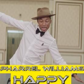 Pharrell Willams vs Mims & Coolio - Happy (dj sam $ remix ) - 5A