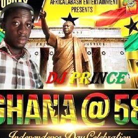 Ghana @ 58 Mixtape