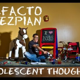 Defacto Thezpian - Adolescent Thoughts Cover Art