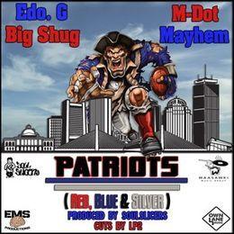 Deltron - Patriots (Red, Blue & Silver) Cover Art