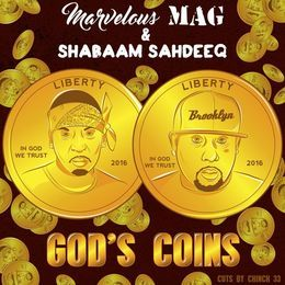 Deltron - God's Coins Cover Art