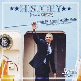 "Deltron - ""History (Thanks Obama)"" Cover Art"