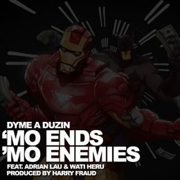 "Deltron - ""Mo Ends, Mo Enemies"" Cover Art"