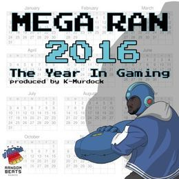 Deltron - The Year In Gaming 2016 Cover Art