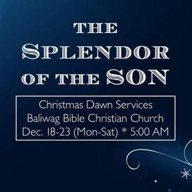 The Splendor of the Son Part 1 (John 1:1-3)