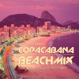 DIRTY BASS BABES - COPACABANA BEACHMIX - SUMMER 2014 - mixed by DJane Pussy Power