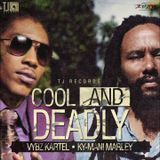 Discjock Romane - Vybz Kartel ft Ky-Mani Marley - Cool and Deadly - Cover Art
