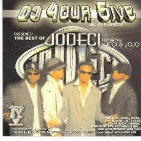 Dj 4our 5ive - BEST OF JODECI Cover Art