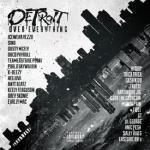 Arabmixtapes - Detroit Over Everything PT 1 Cover Art