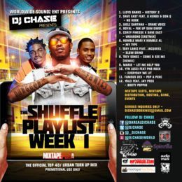 DJ Chase - DJ Chase - The Shuffle Playlist Week 1 New Music (For Promo use Only) Cover Art