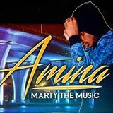DJ Chase - Marty The Music - The Amina Project (The EP) Cover Art