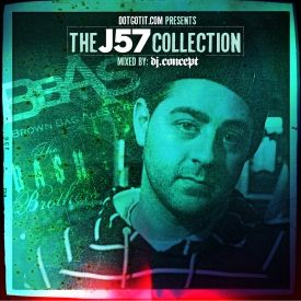 DJ Concept - The J57 Collection Cover Art