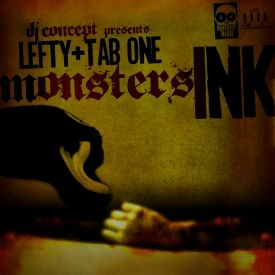 DJ Concept - Monsters Ink (Lefty & Tab-One) Cover Art
