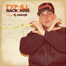 DJ Concept - Back2Kris Mixtape Cover Art
