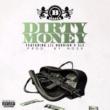 DJ Cos The Kid - Dirty Money Feat Lil Darrion & 3LE Cover Art