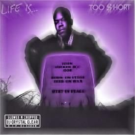 Life Is ... Too Short Slowed & Chopped by Dj Crystal clear