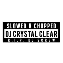 Dj Crystal Clear - Don't Wanna See Me  Slowed & Chopped by Dj Crystal clear Cover Art