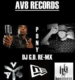 AV8 REC. - PONY DJ G.D. RE-MX