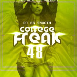 Dj hb smooth - College Freak 48 Cover Art