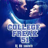 Dj hb smooth - College Freak 51 Cover Art